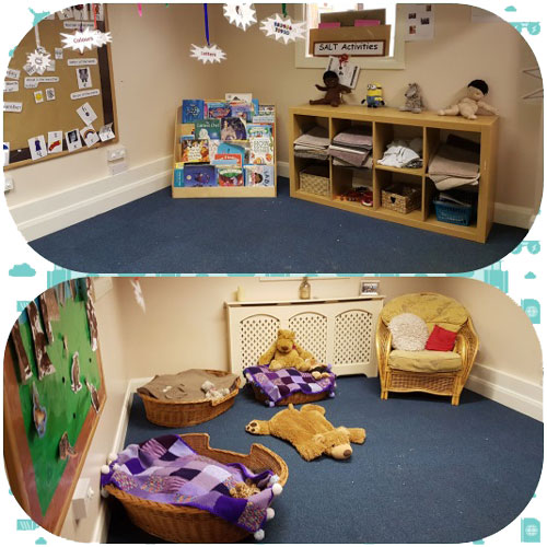 Carpet Area in the Pre-School Room at Little Ducklings Nursery, Wombwell, Barnsley