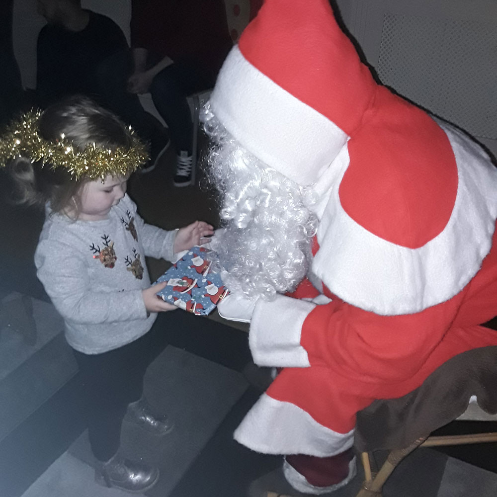 Christmas Party 2019 at Little Ducklings Nursery, Wombwell