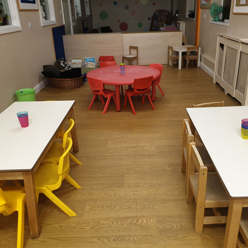 Dining Hall at Little Ducklings Nursery