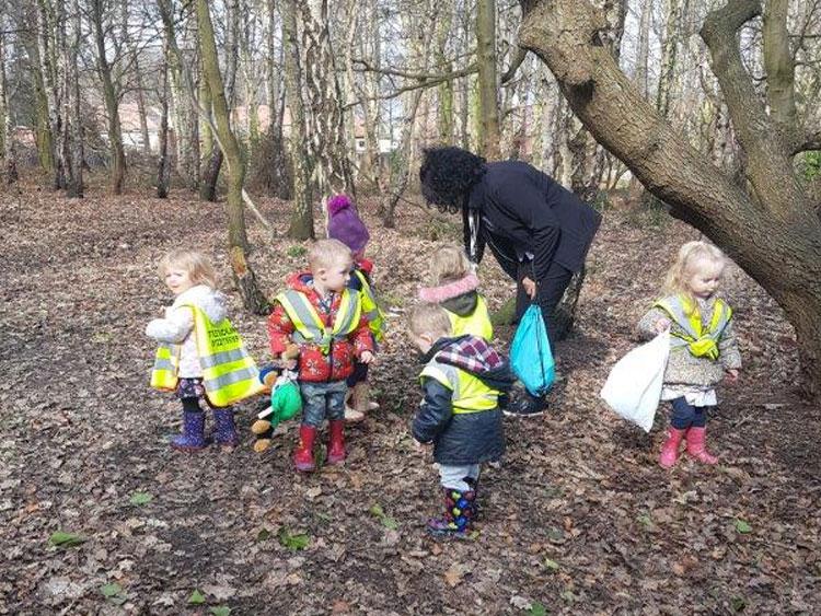 Easter at Little Ducklings Nursery, Barnsley