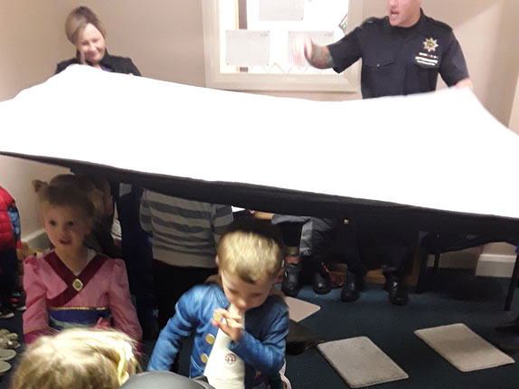 Fire Brigade Visit Little Ducklings Nursery