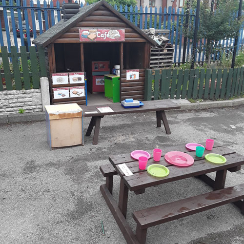 Outdoors at Little Ducklings Nursery