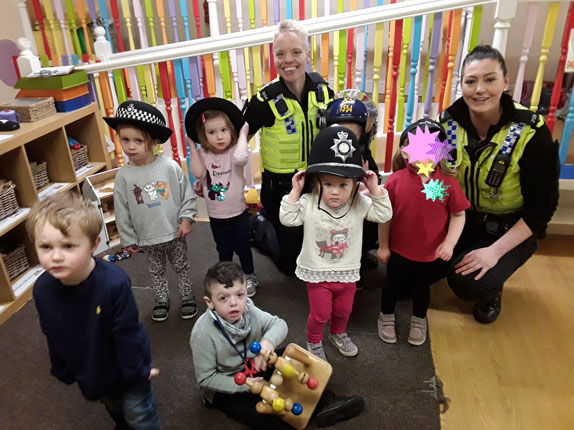 Educational Police Visit to Little Ducklings Nursery