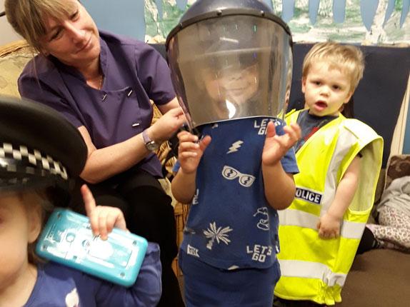 Educational Police Visit to Little Ducklings Nursery
