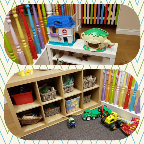 Small World Area in the Toddler Room at Little Ducklings Nursery, Wombwell, Barnsley