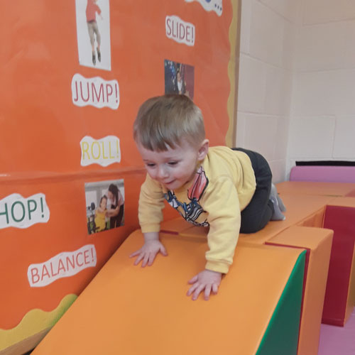 Soft Play Area at Little Ducklings Nursery