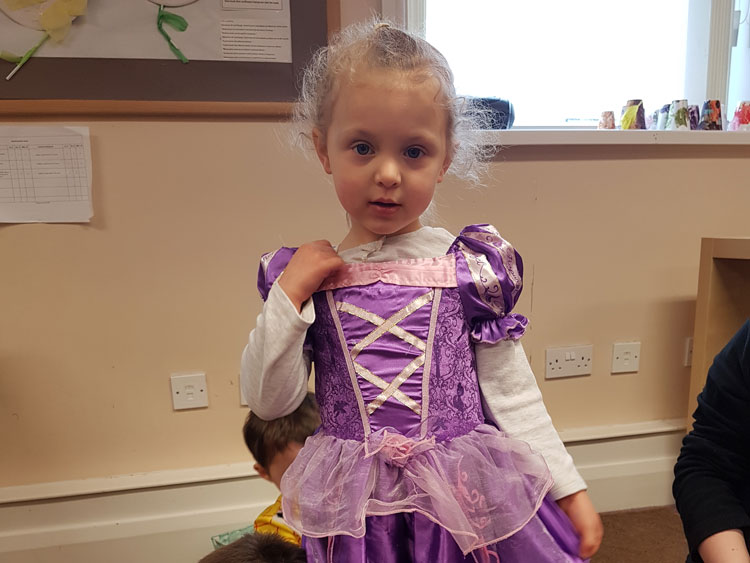 World Book Day at Little Ducklings Nursery, Wombwell, Barnsley
